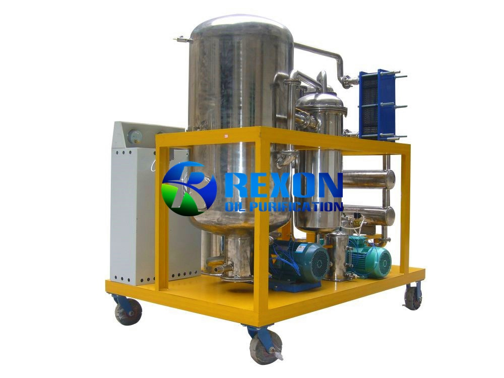 304 Edible Stainless Steel UCO Filtration System, Vegetable Oil Purifiaction System SYA-100(6000LPH)