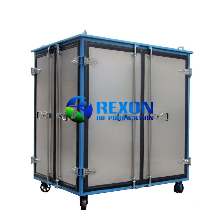 Aluminium Alloy Enclosed Doors Type Dielectric Oil Treatment Machine
