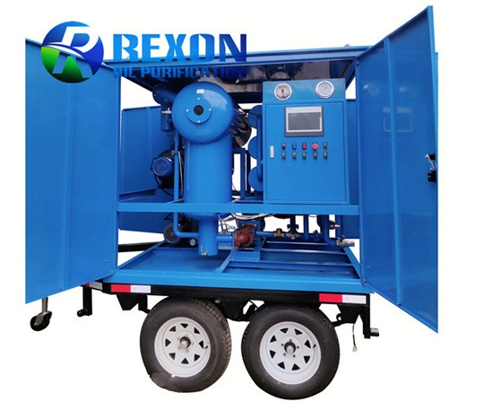 Mobile Transformer Oil Purification System ZYD-WM