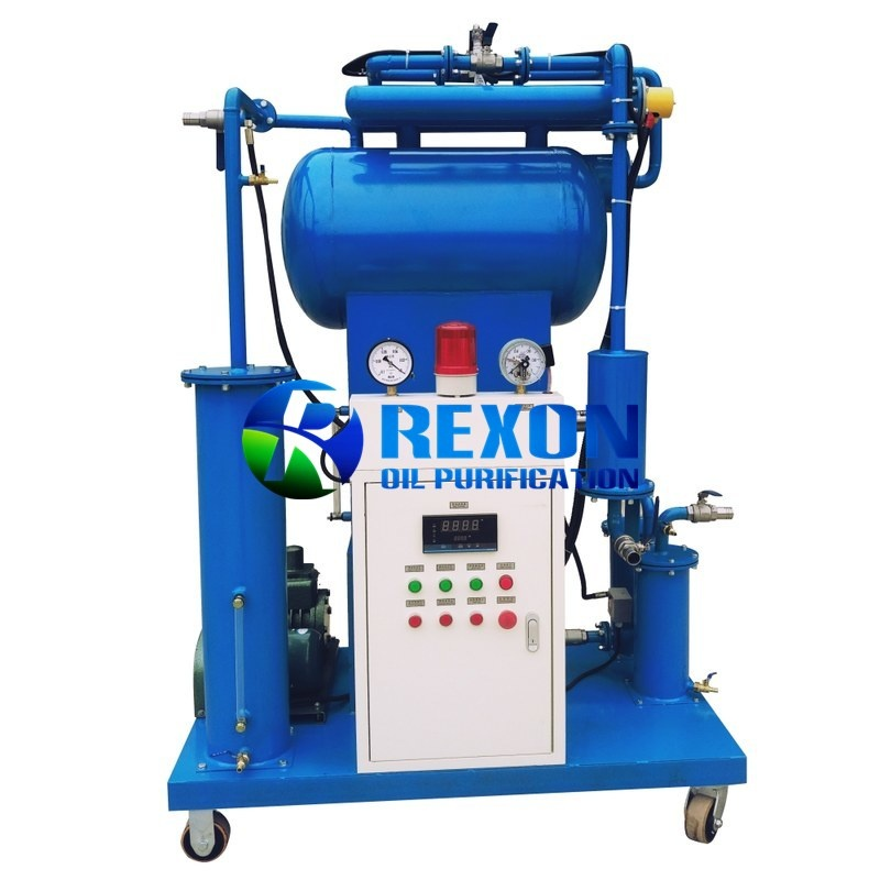 Rexon Single Stage Vacuum Type Transformer Oil Filtration Unit ZY