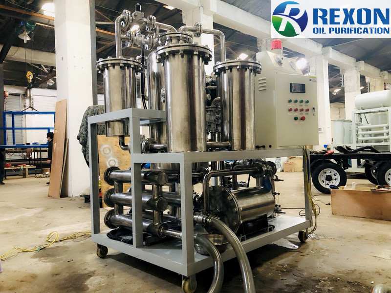 SYA Series 304 Stainless Steel Material Cooking Oil Purification System
