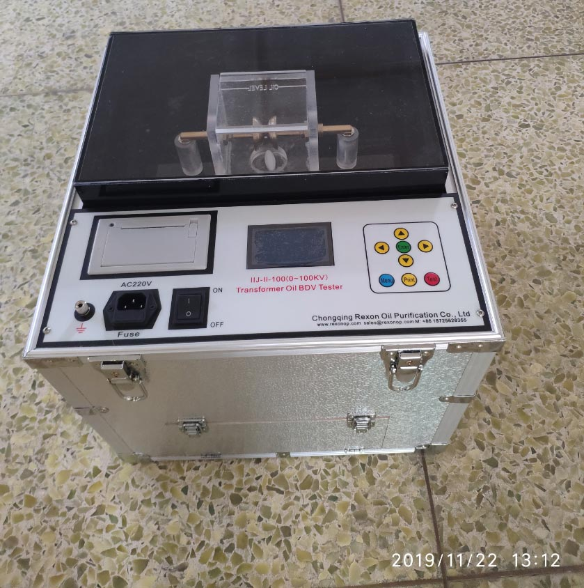 REXON IIJ-II-100 Transformer Oil Tester Delivery