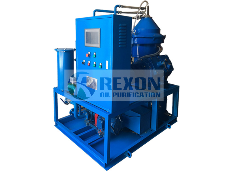 REXON unique online automatic slagging centrifugal separation oil purification unit