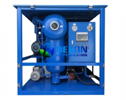 High Efficient Double Vacuum Transformer Oil Cleaning Machine for Onsite Maintenance