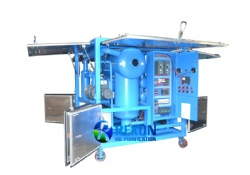 Bipolar Vacuum Transformer Oil Purification Machine