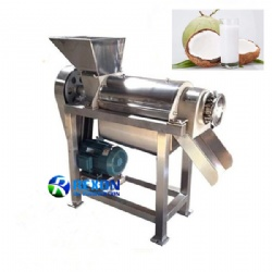 Coconut Milk Extracting Machine Fruit Screw Juicing Machine