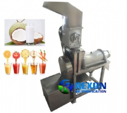 Coconut Milk Extracting Machine Screw Juicer with Crusher