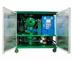 3000L/Hr Double Vacuum Transformer Oil Purification Machine for Insulating Oil Filtration