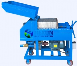 Plate Frame Pressurized Type Oil Purifier
