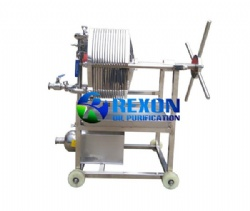 304 Stainless Steel Plate Pressure Oil Purifier