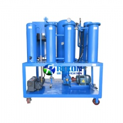 600L/H PLC Automatic Touch Screen Type Lube Oil Filtration Purifier