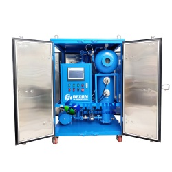 Vacuum Turbine Oil Dehydration and Oil Purification Unit Series TY