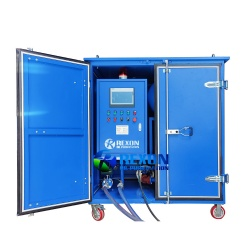 Double Stage High Vacuum Transformer Oil Filtration System