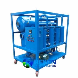 High Vacuum Hydraulic Oil Purifying and Filtering System TYA