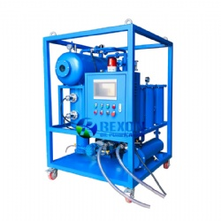 High Vacuum Turbine Oil Regeneration System TY