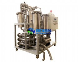 Vacuum Cooking Oil Filtration Machine Equip with Edible Filters and Stainless Steel Oil Pump
